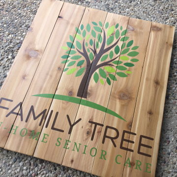 Custom Business Sign Pallet Sign, Business Signage, wood sign, custom 36x36