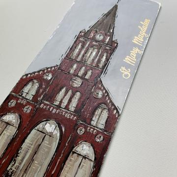 Church, St. Mary Magdalen, 10x20, canvas