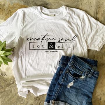 Creative Soul Lou and Elle Tshirt